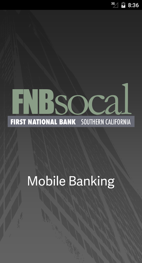 FNBsocal Mobile Banking- screenshot
