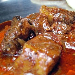 Pressure Cooker Pork Vindaloo