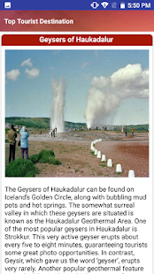 Iceland Popular Tourist Places and Tourism Guide - náhled