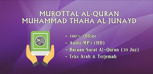 Muhammad Thaha Al Junayd Murottal Al Quran Offline - Aplikacije na