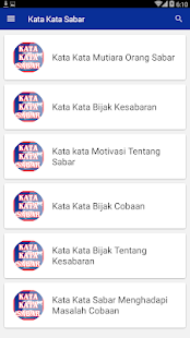 Kata Kata Sabar For Pc Windows 7 8 10 Mac Free