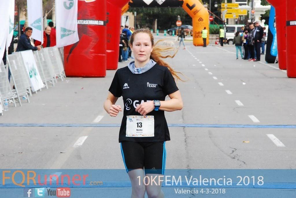 NOELIA JUAN PASTOR del Gaes Running Team