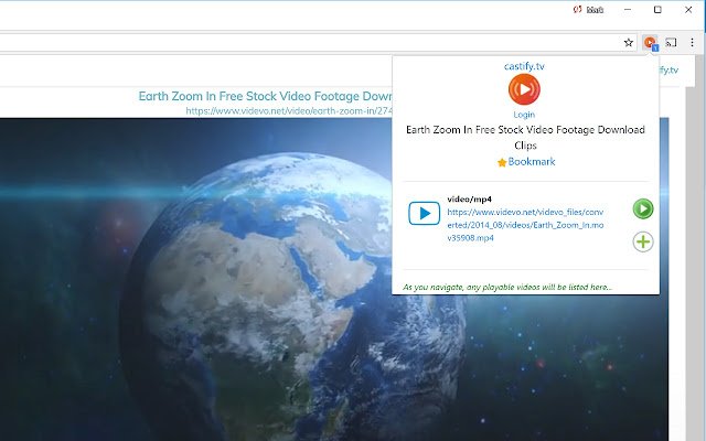 Castify - Unify and Watch Web Videos Online
