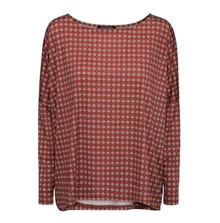 Ilse Jacobsen blouse brownie