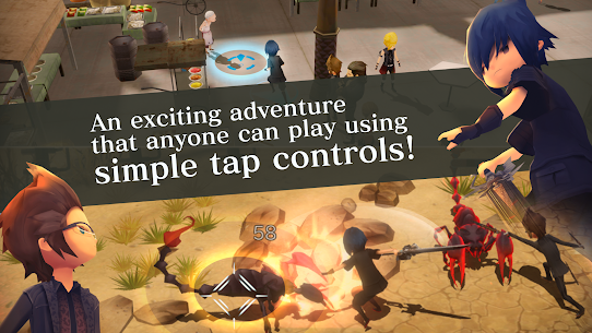 FINAL FANTASY XV POCKET EDITION Mod Apk Download For Android and Iphone 8