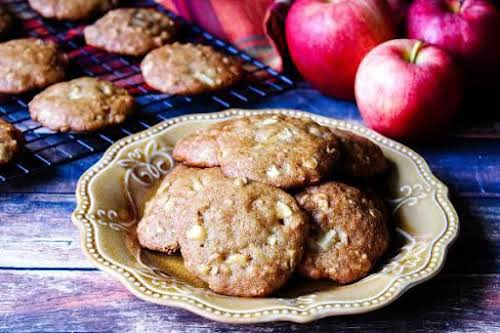 "Apple Butter Oatmeal Cookies""After making and canning homemade apple butter, I looked..."