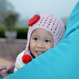 Child by Renie A. Priyanto - Babies & Children Child Portraits ( #child #childs #smile #girls #funnysmile,  )