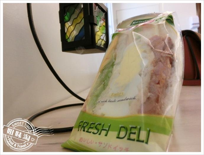 高雄里歐歐式早餐-河堤店-燒烤雞腿排三明治