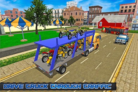 Bike Transporter Big Truck 2 screenshot