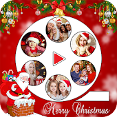 Tải Christmas Photo Video Maker With Music miễn phí