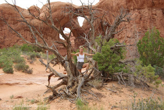 Photo: Arches NP, Grand Arch