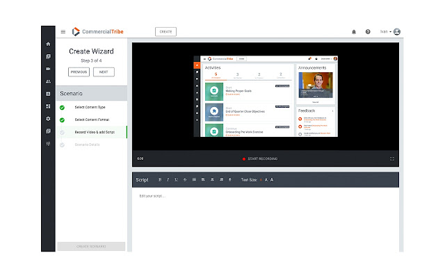 CommercialTribe Screen Recording for Chrome