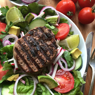 Grilled Beef Tenderloin Salad