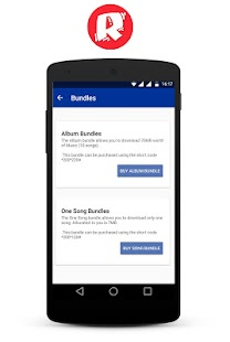 Rediyo Music App - náhled