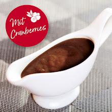 Abbildung Gourmet Entensauce mit Cranberries