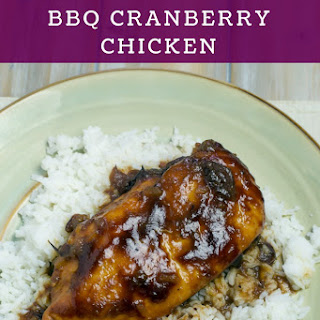 Crock Pot BBQ Cranberry Chicken.