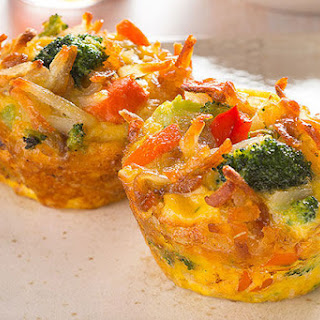 Cheesy Veggie and Egg Cups