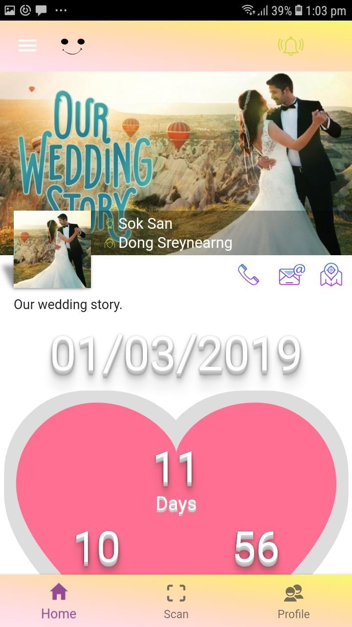 Скриншот Wedding eSeeSmile