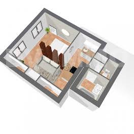 Studio 27,83 m2