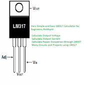 LM317 Calculator : Calculate Volt, Current, Power