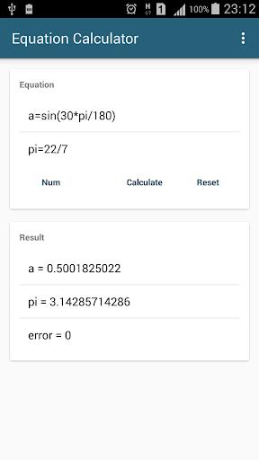 Algebra Equation Calculator 1.3.3 screenshots 7