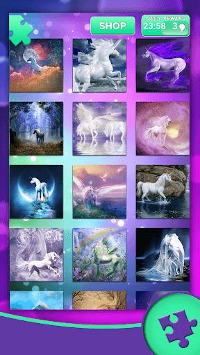 Unicorn Jigsaw Puzzles 1.5 screenshots 1