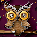 abstract owl live wallpaper icon