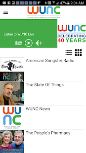WUNC- screenshot thumbnail