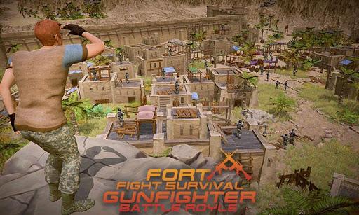 Fort Fight Survival Gunfighter-Battle Royle 1.1 screenshots 2