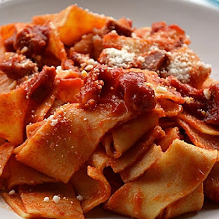 Traditional Red Calabrese Pasta Sauce.