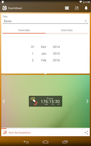 Countdown Widget screenshot 24
