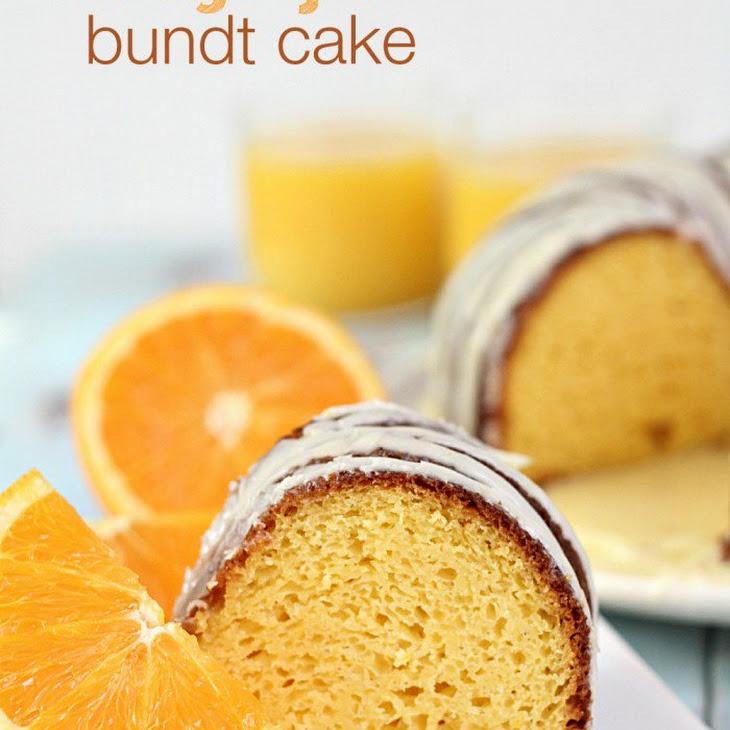 Orange Juice Bundt Cake