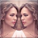 Mirror Photo Collage Creator icon