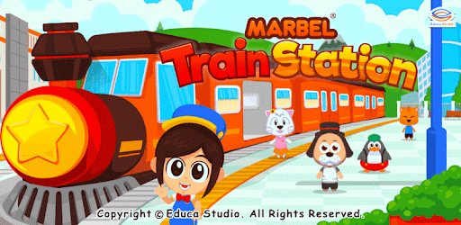 Marbel Train is a simulation game specifically for children.