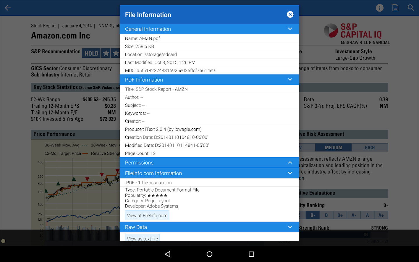 pdf viewer app for android