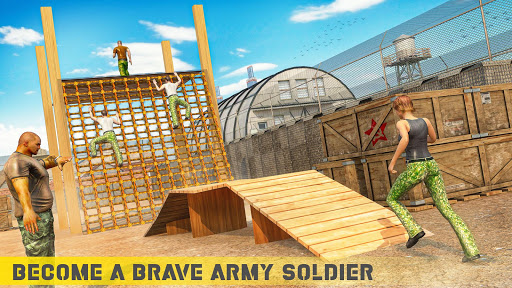 Free Army Training Game: US Commando School apkmr screenshots 2