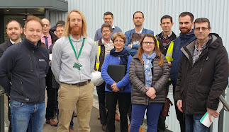 Official tour of Energy-from-Waste facility which mirrors Buttington plans