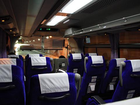JR九州バス「広福ライナー」 4554 まもなく関門橋