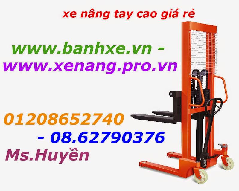 Xe nâng tay cao 1000kg nâng cao 1. 6m giá siêu rẻ liên hệ ngay 01208652740