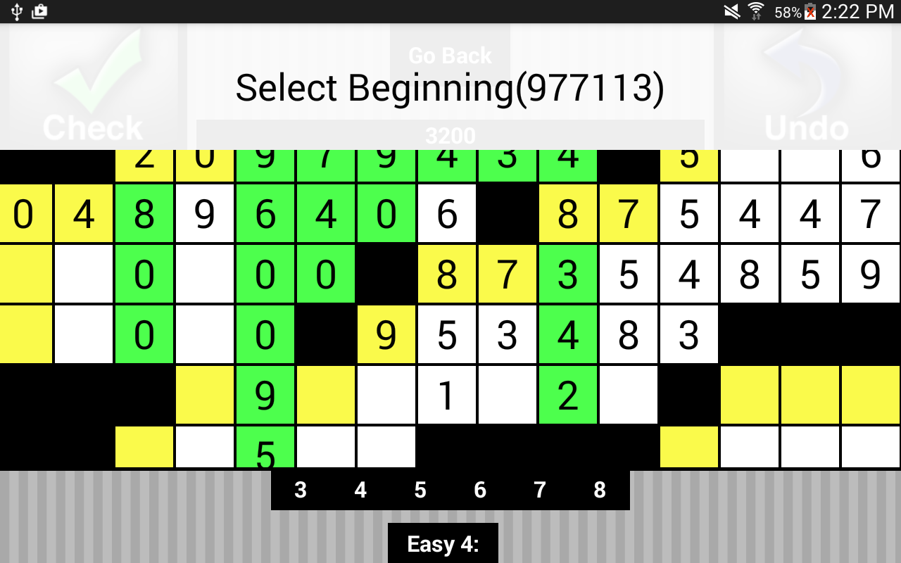 Cross Digits Lite- screenshot