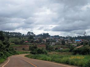 Photo: On the way toBaan Kaenoi village at Myanmar border.