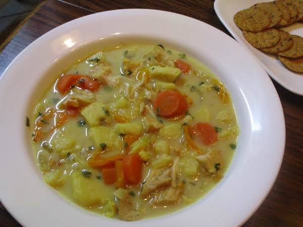 Creamy Curried Vegetable Soup Recipe