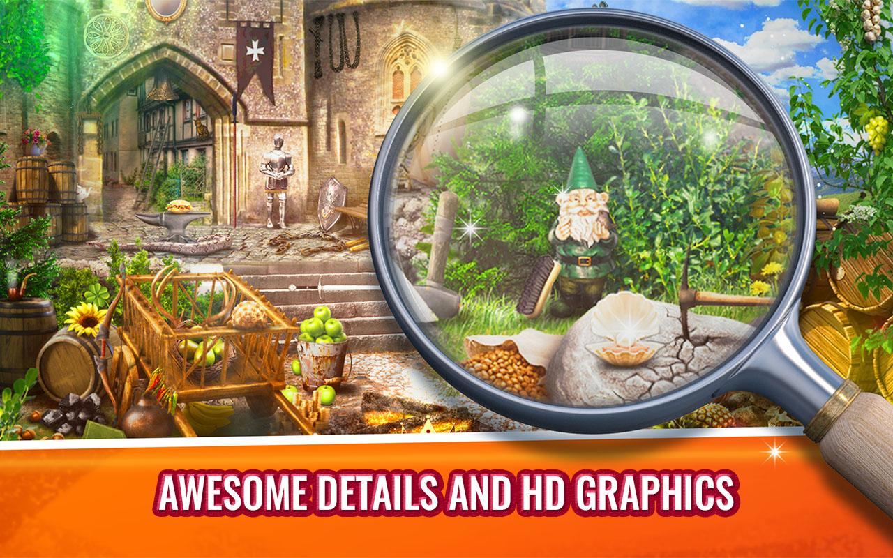 Old Castle Hidden Object Game- screenshot