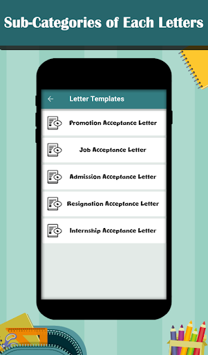 Letter Templates - Offline Cover Letter Template 1.0 screenshots 2