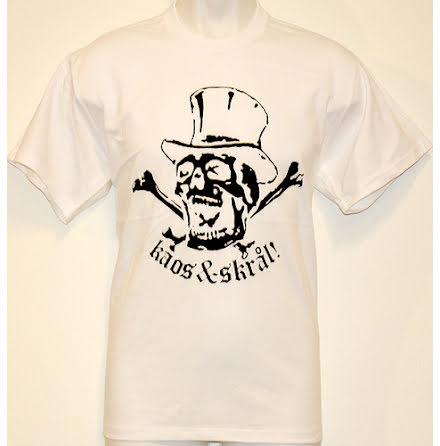T-Shirt - Kaos & Skrål Vit