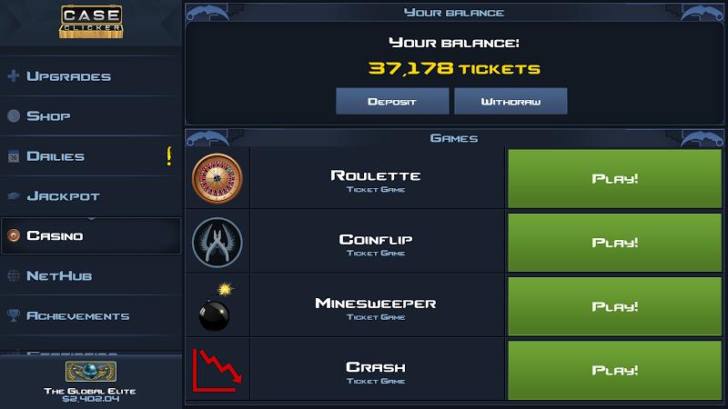 Case Clicker 2 - Market Update! Screenshot 1
