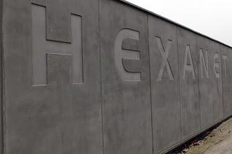 Photo: Vue arrière #datacenter #reims (Visite de chantier 23.10.2014)