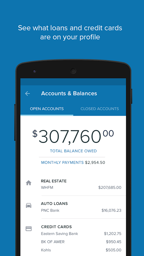 CreditWise from Capital One- screenshot