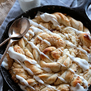Lemon Coconut Swirl Skillet Danish