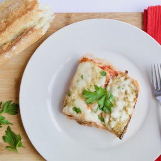Low-Carb Eggplant Parm Lasagna.